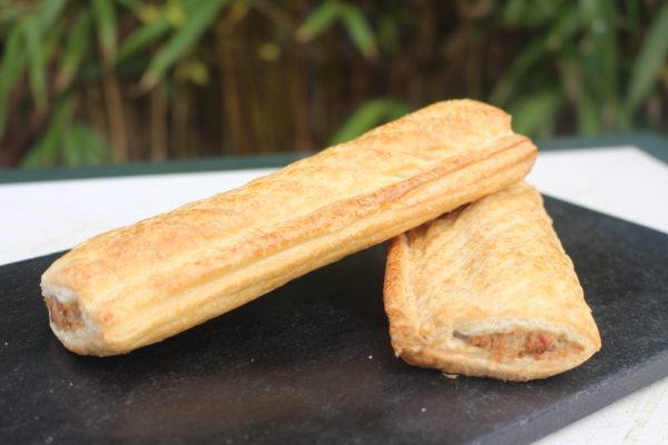 Jumbo baked sausage rolls