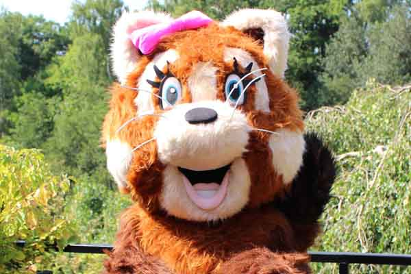 Zoo Crew Party – Rubee the Red Panda