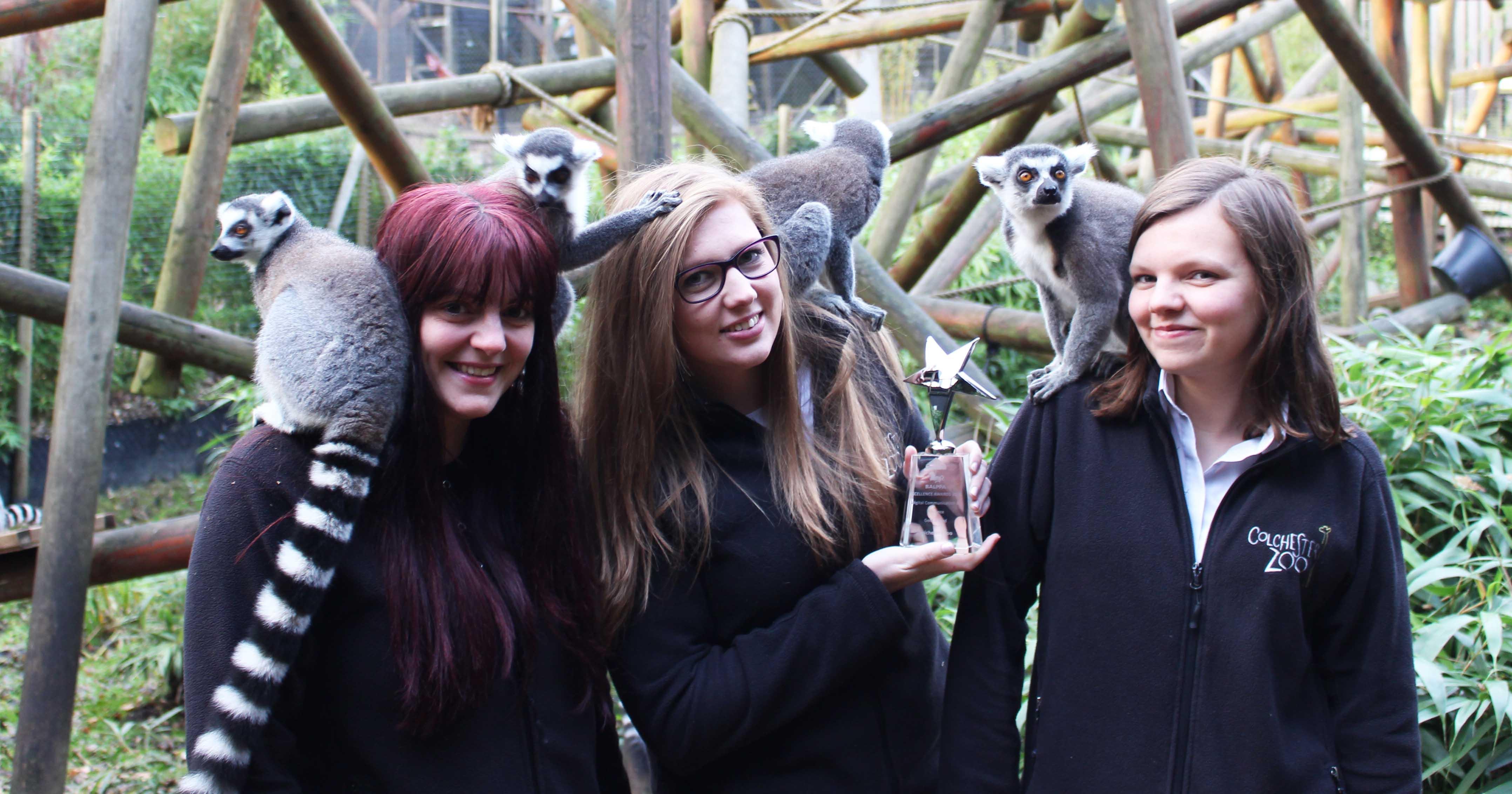 Colchester Zoo WIN BALPPA Award!