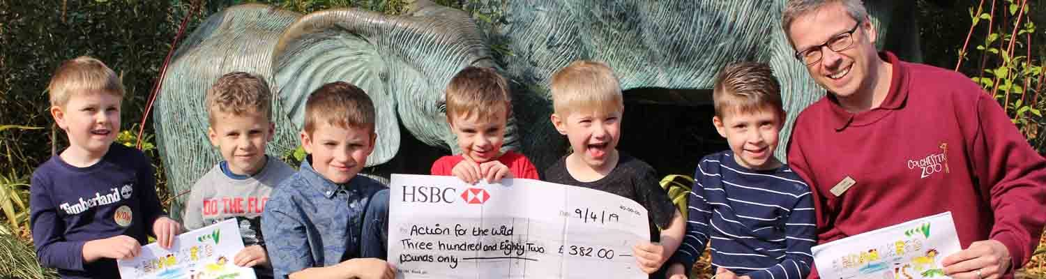 Fantastic fundraising from local children