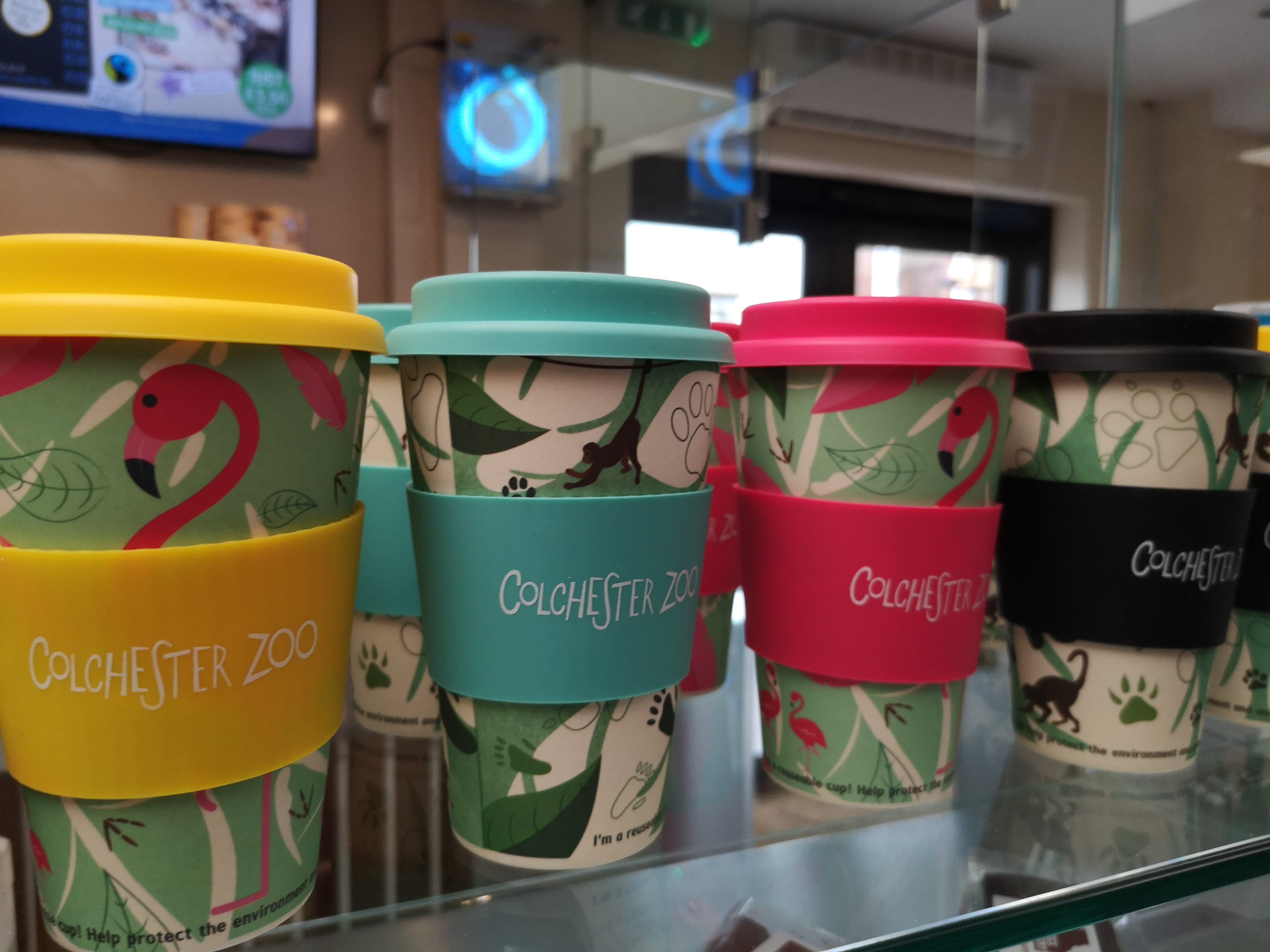 Plans to reduce paper cup usage!
