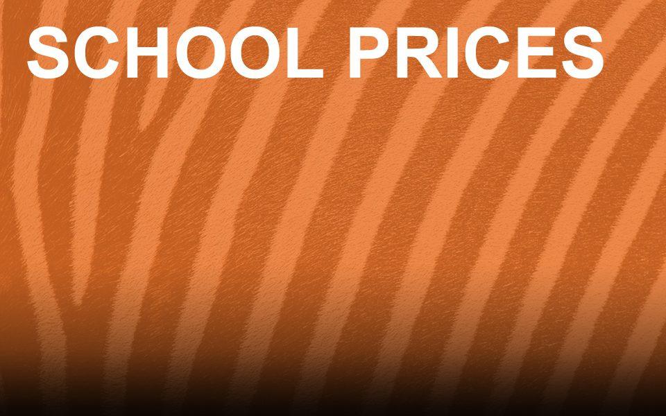 School Admission Prices